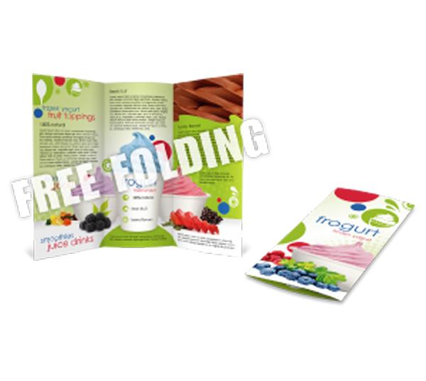 Brochures  w/Free Folding