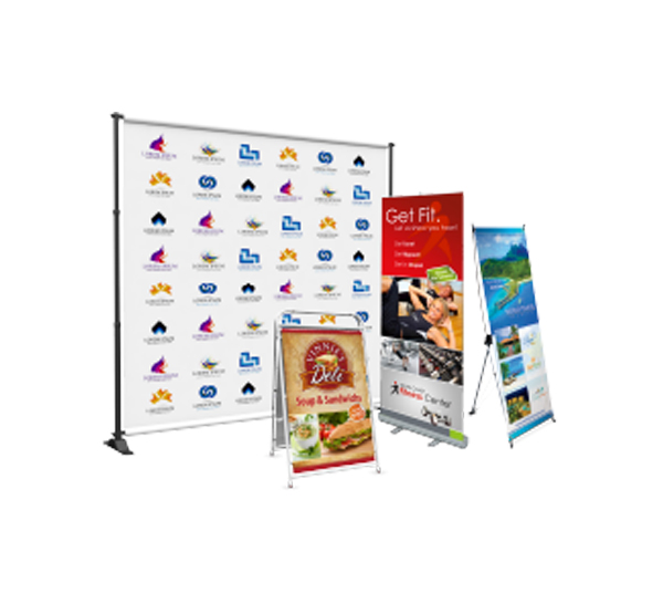 Banner Stands – Stand ONLY No Print