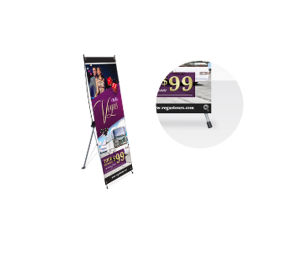 X-Frame Banner with Stand