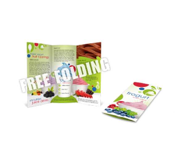 Brochures with Free Folding