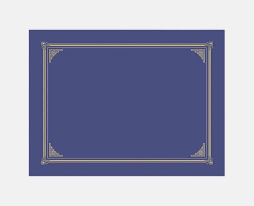 Blue Metallic Linen