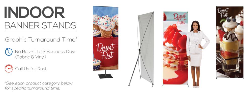 Indoor Banner Stands