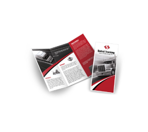 Brochures 1-color