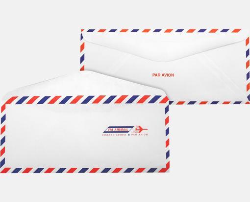 #10 Regular Envelopes (4 1/8 x 9 1/2) – Airmail