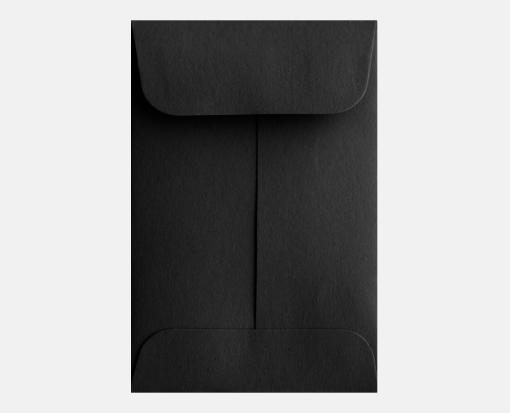 Midnight Black – #1 Coin Envelopes (2 1/4 x 3 1/2)