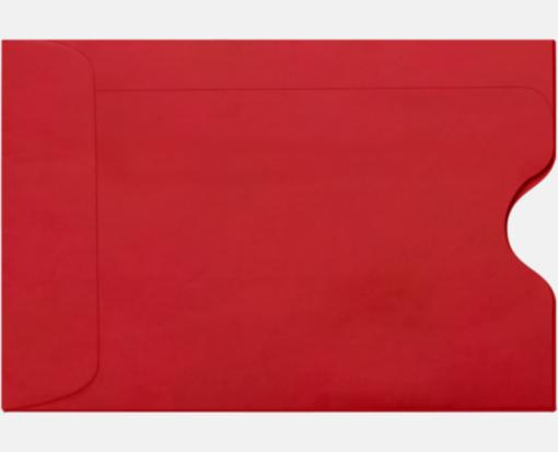 Ruby Red – Credit Card Sleeve (2 3/8 x 3 1/2)