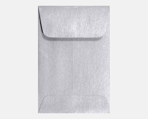 Silver Metallic – #1 Coin Envelopes (2 1/4 x 3 1/2)
