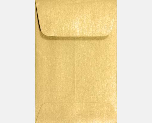Gold Metallic – #1 Coin Envelopes (2 1/4 x 3 1/2)