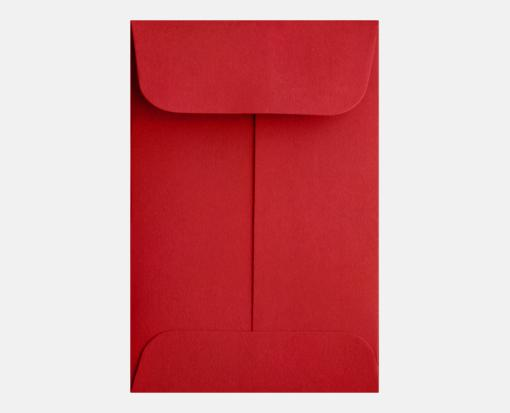 Ruby Red – #1 Coin Envelopes (2 1/4 x 3 1/2)