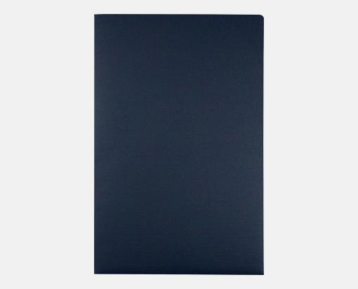 Dark Blue Linen – 9 1/2 x 14 1/2 Presentation Folders