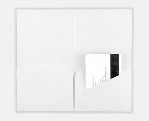 White Linen – Hotel Key Card Holders – 3 3/8 x 6
