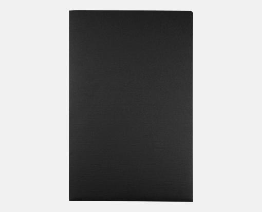 Black Linen – 9 1/2 x 14 1/2 Presentation Folders