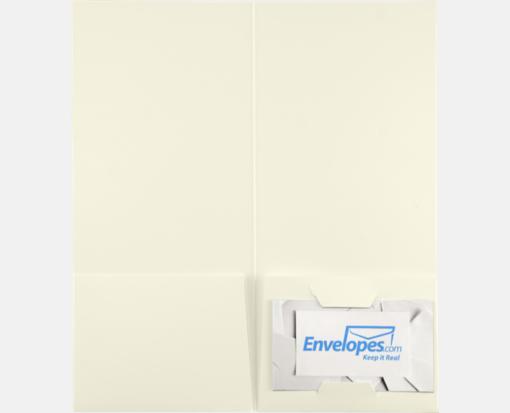 Natural Linen – 4 x 9 Pocket Folders