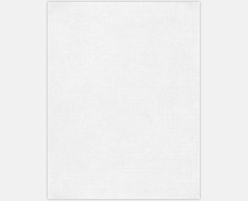 White – 100% Recycle – Cardstock (8 1/2 x 11 )