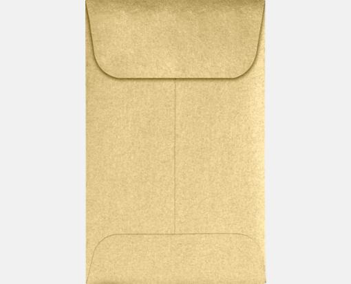 Blonde Metallic – #1 Coin Envelopes (2 1/4 x 3 1/2)