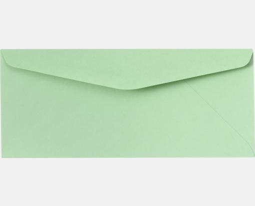 10 regular envelopes 4 1 8 x 9 1 2 pastel green printearly