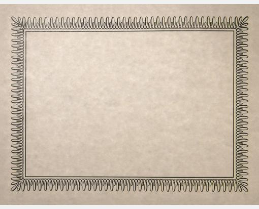 Natural Certificates – Blank (8 1/2 x 11)