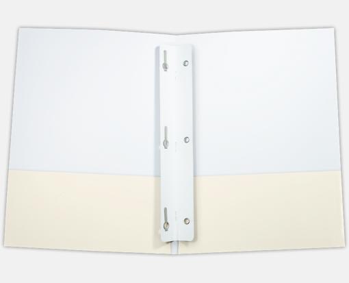 Tang Strip Fastener – 3 Prong – White