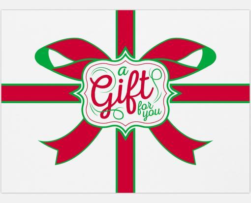 A Gift To You on White – #17 Mini Envelopes (2 11/16 x 3 11/16)