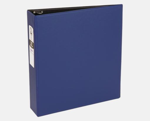 2″ Economy Non-View Binder Poly Binder w/ Round Rings – Blue