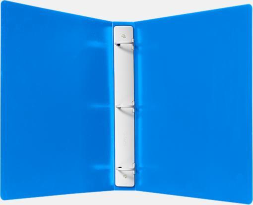 1″ Plastic Three Ring Binder w/ Plastic Tuffy Rings – Blue