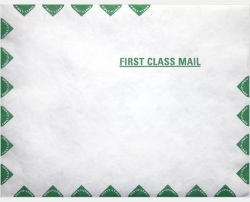 14lb. Tyvek First Class – Open End (11 1/2 x 14 1/2)